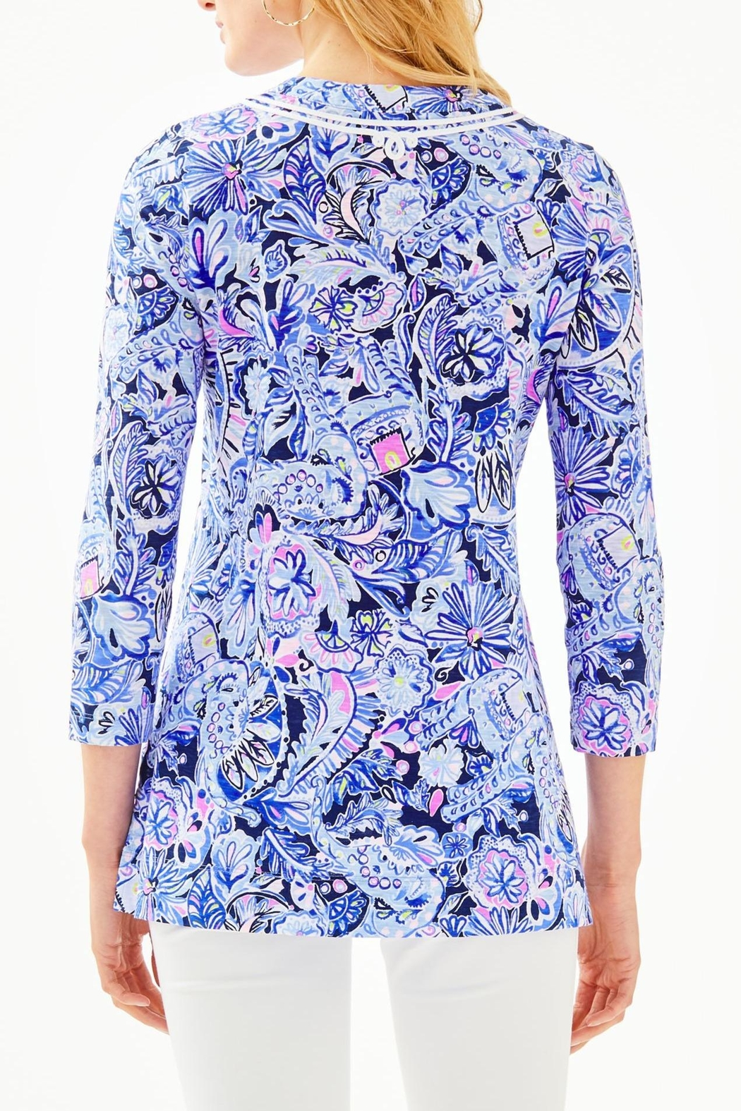 Lilly Pulitzer Kaia Knit Tunic - Front Full Image