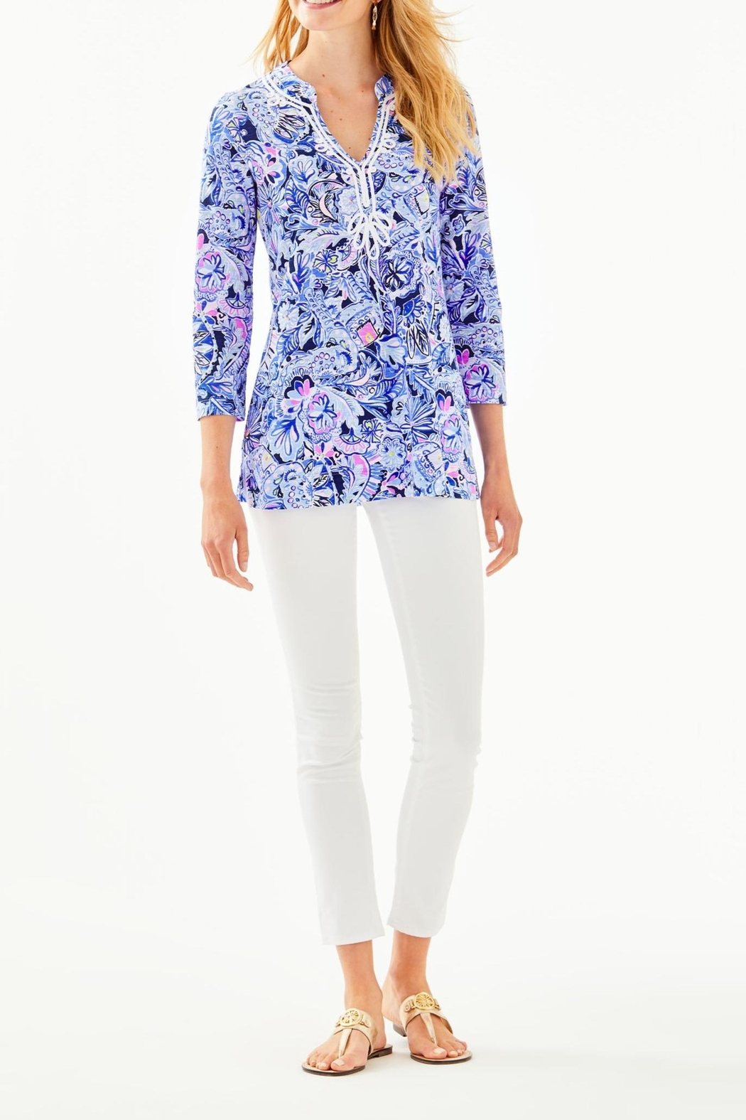 Lilly Pulitzer Kaia Knit Tunic - Side Cropped Image