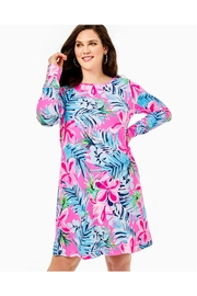 Lilly Pulitzer Kaisley Dual-Neck Dress - Back cropped