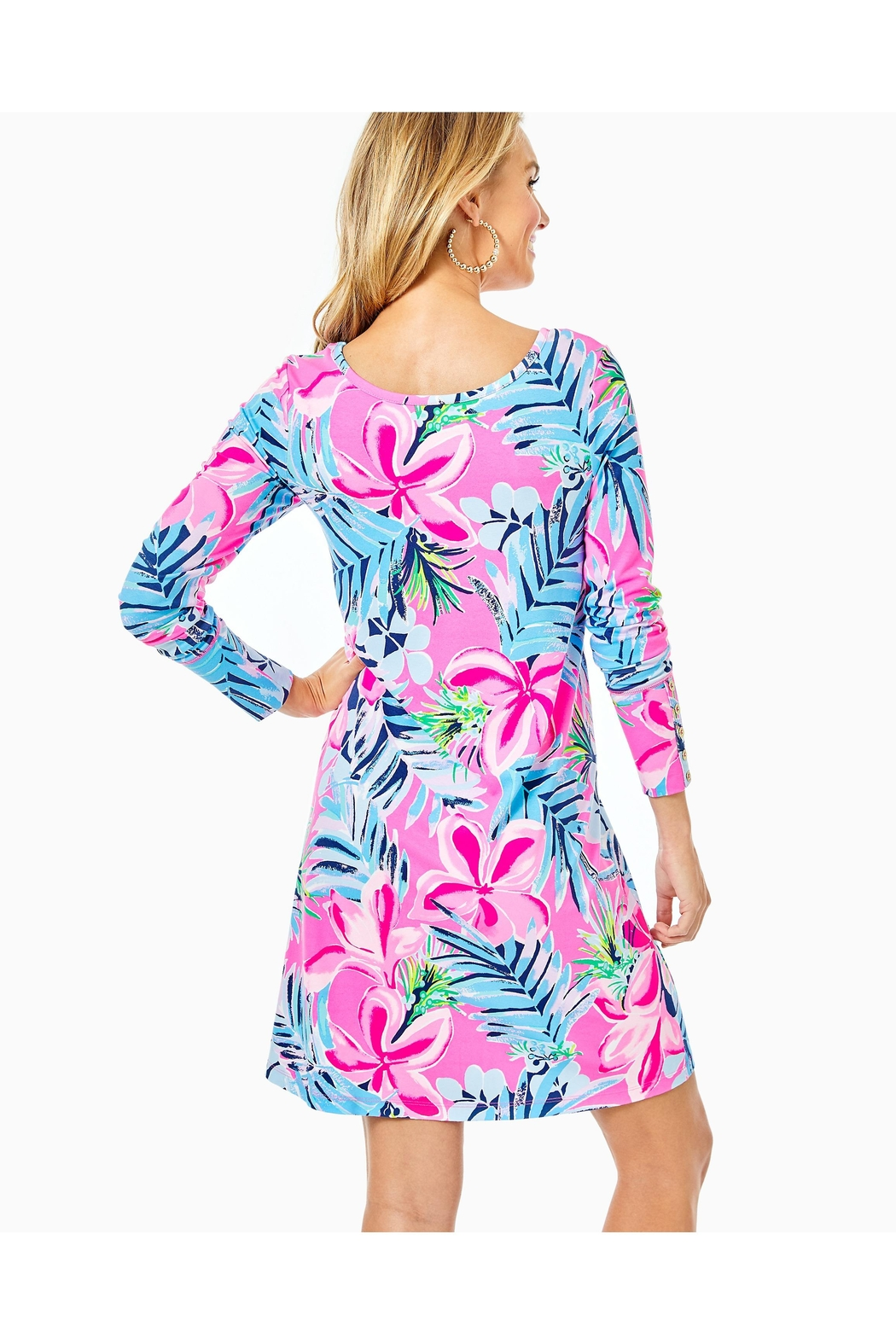 Lilly Pulitzer Kaisley Dual-Neck Dress - Front Full Image