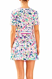 Lilly Pulitzer Kalani Sun Guard Top - Front full body