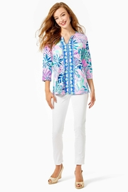 Lilly Pulitzer Karina Tunic Top - Side cropped