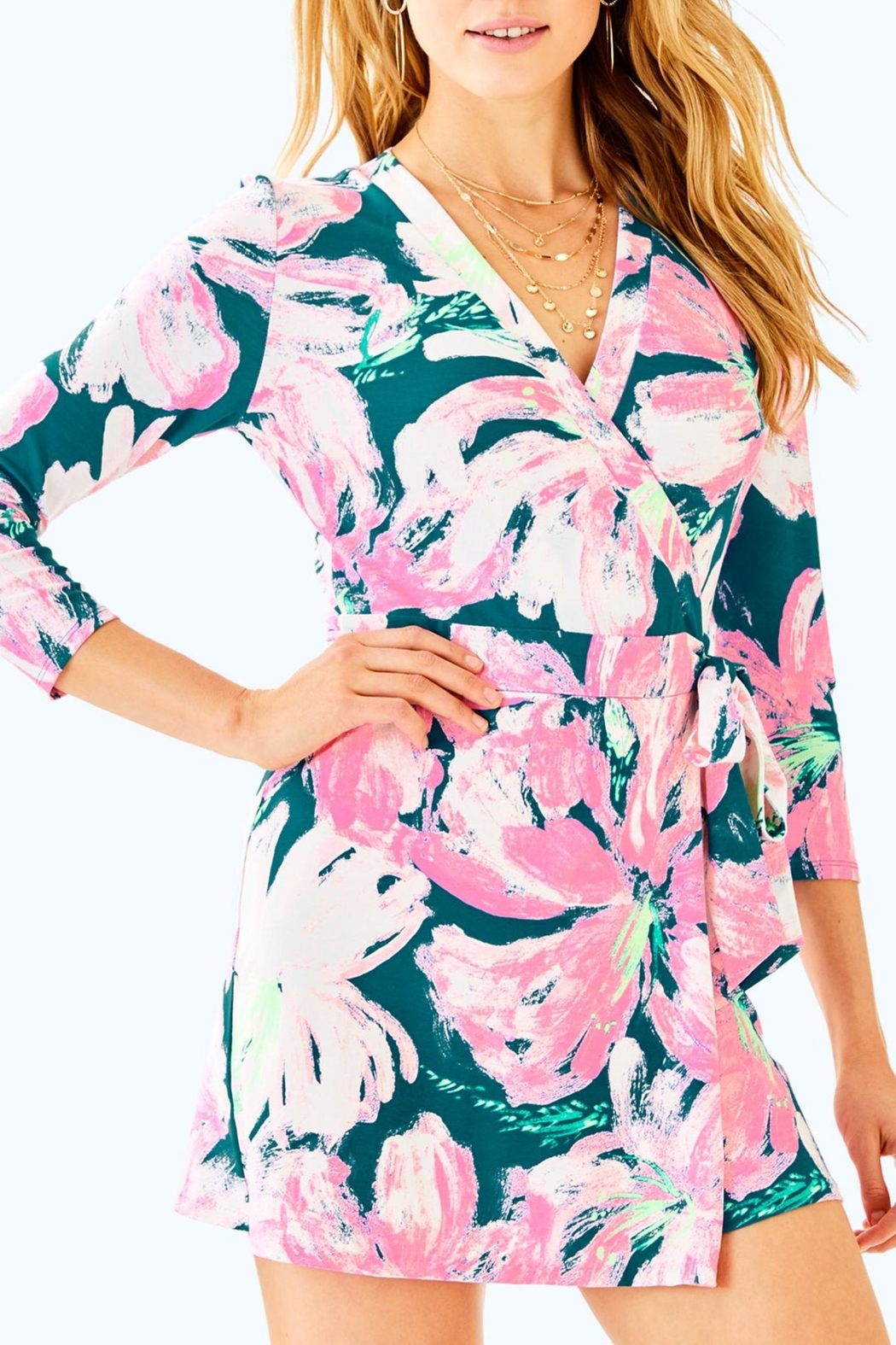 408c90bc1cb9 Lilly Pulitzer Karlie Wrap Romper from Sandestin Golf and Beach ...
