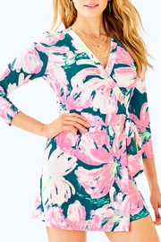 Lilly Pulitzer Karlie Wrap Romper - Product Mini Image
