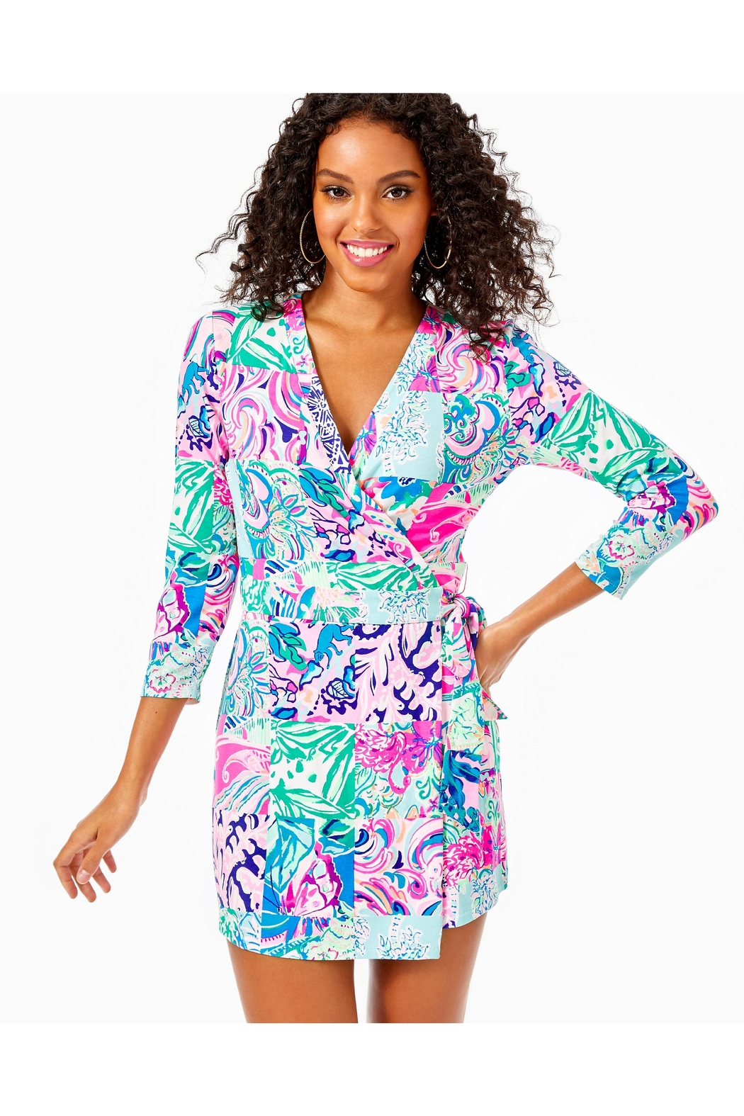 Lilly Pulitzer Karlie Wrap Romper - Main Image