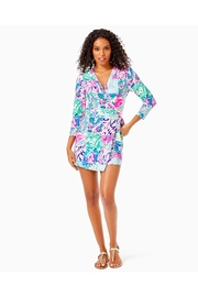Lilly Pulitzer Karlie Wrap Romper - Other