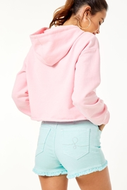 Lilly Pulitzer Karter Cropped Hoodie - Front full body