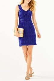 Lilly Pulitzer Kaylee Shift Dress - Back cropped