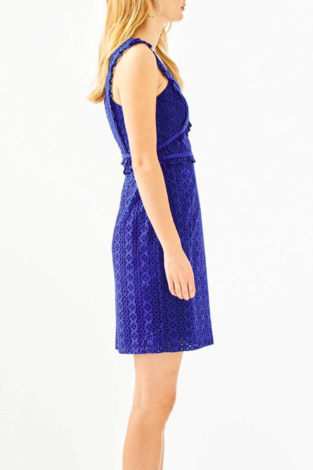 Lilly Pulitzer Kaylee Shift Dress - Side Cropped Image