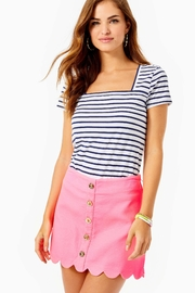 Lilly Pulitzer Kaylie Button-Down Skort - Product Mini Image