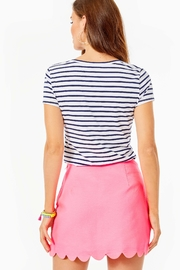 Lilly Pulitzer Kaylie Button-Down Skort - Front full body
