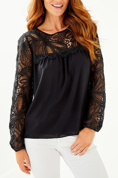 Lilly Pulitzer Keegan Lace Top - Product List Image