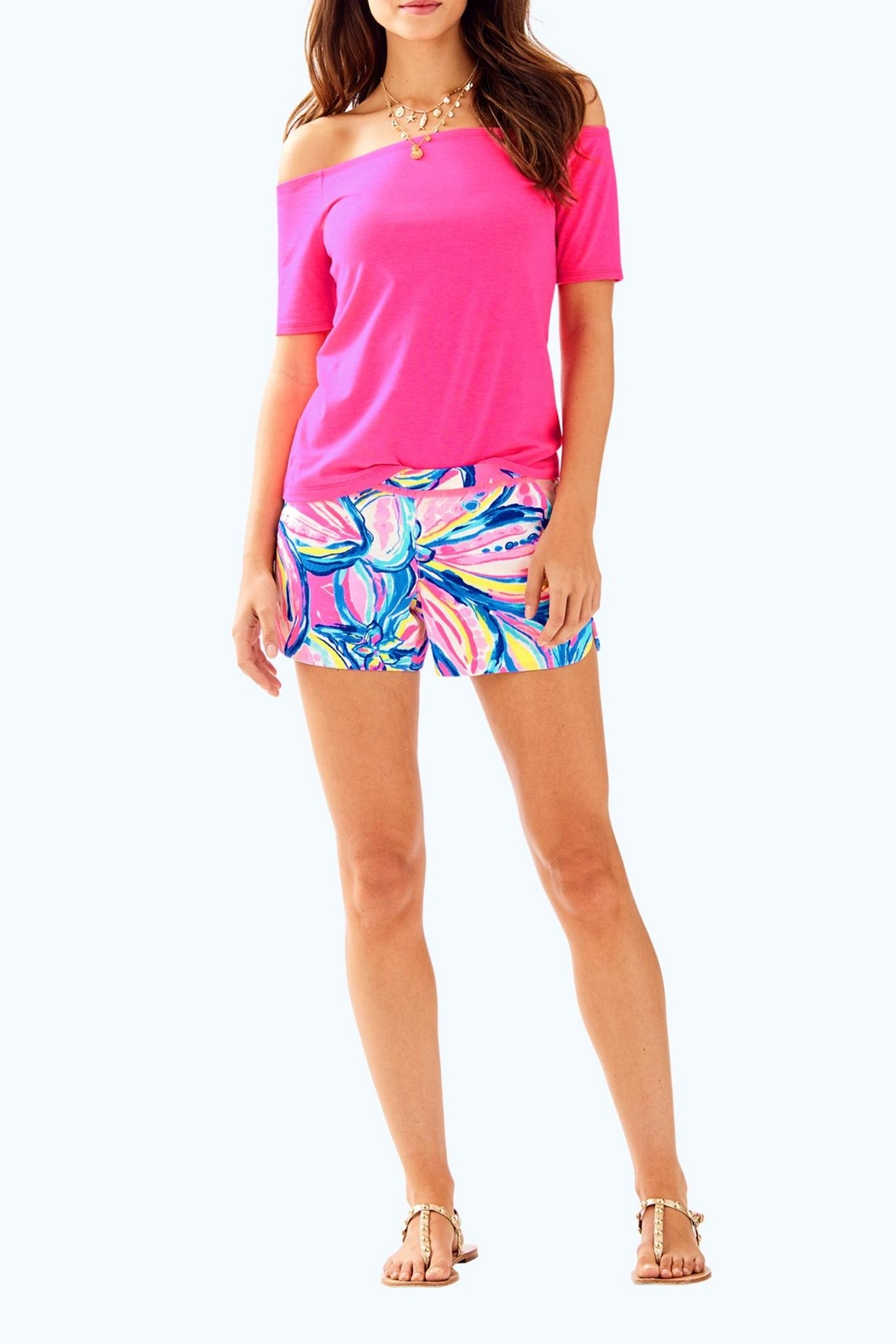 Lilly Pulitzer Keira Top - Side Cropped Image
