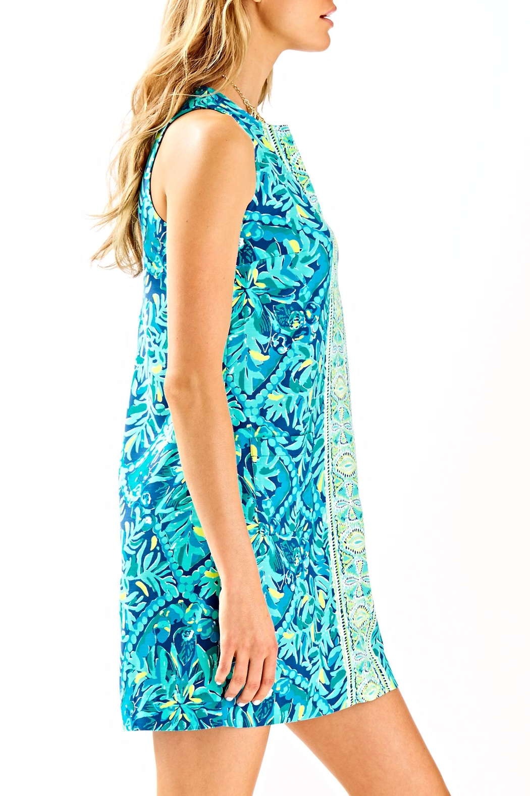 Lilly Pulitzer Kelby Stretch Dress - Side Cropped Image