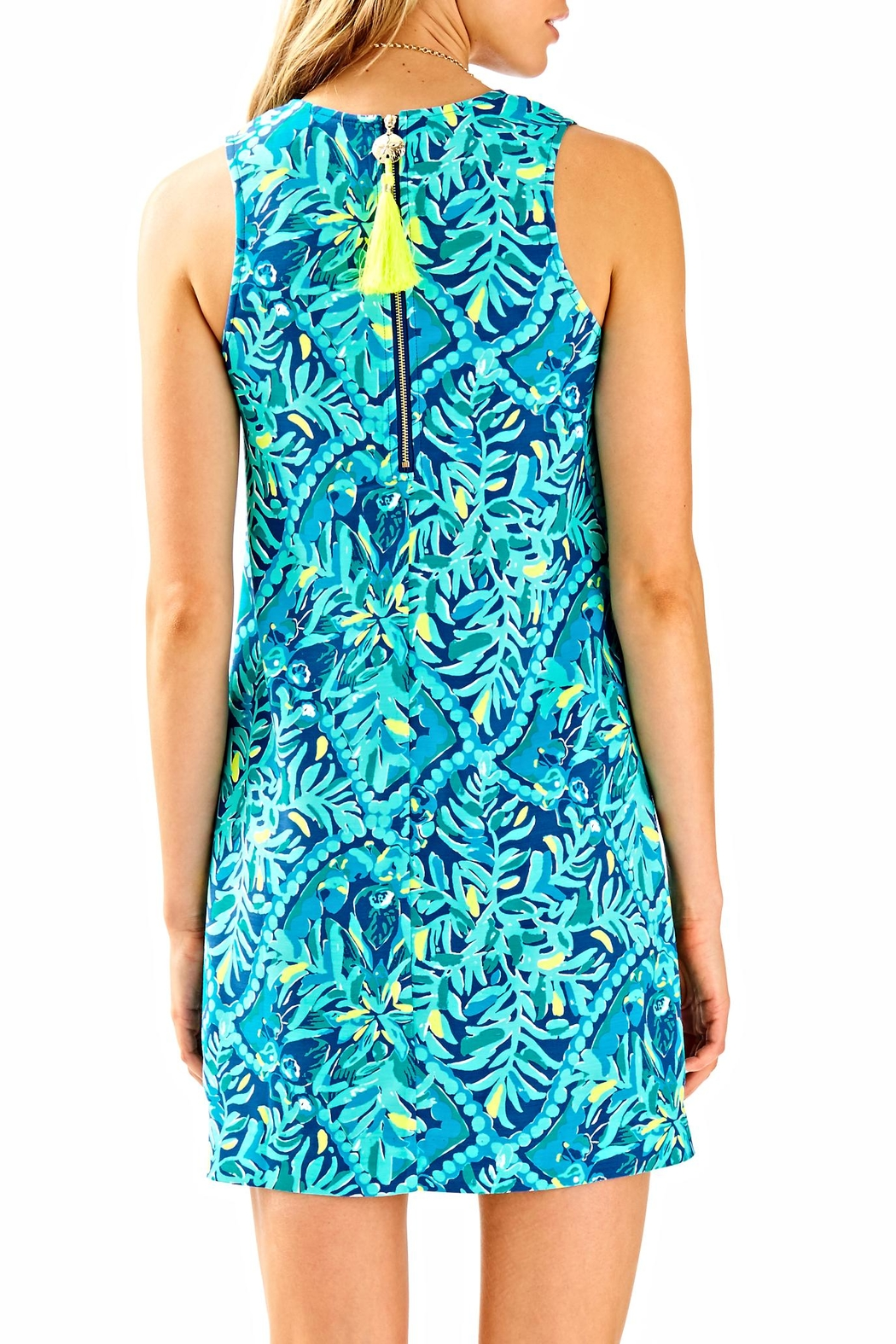 Lilly Pulitzer Kelby Stretch Dress - Front Full Image
