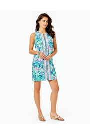 Lilly Pulitzer Kelby Stretch-Shift Dress - Back cropped