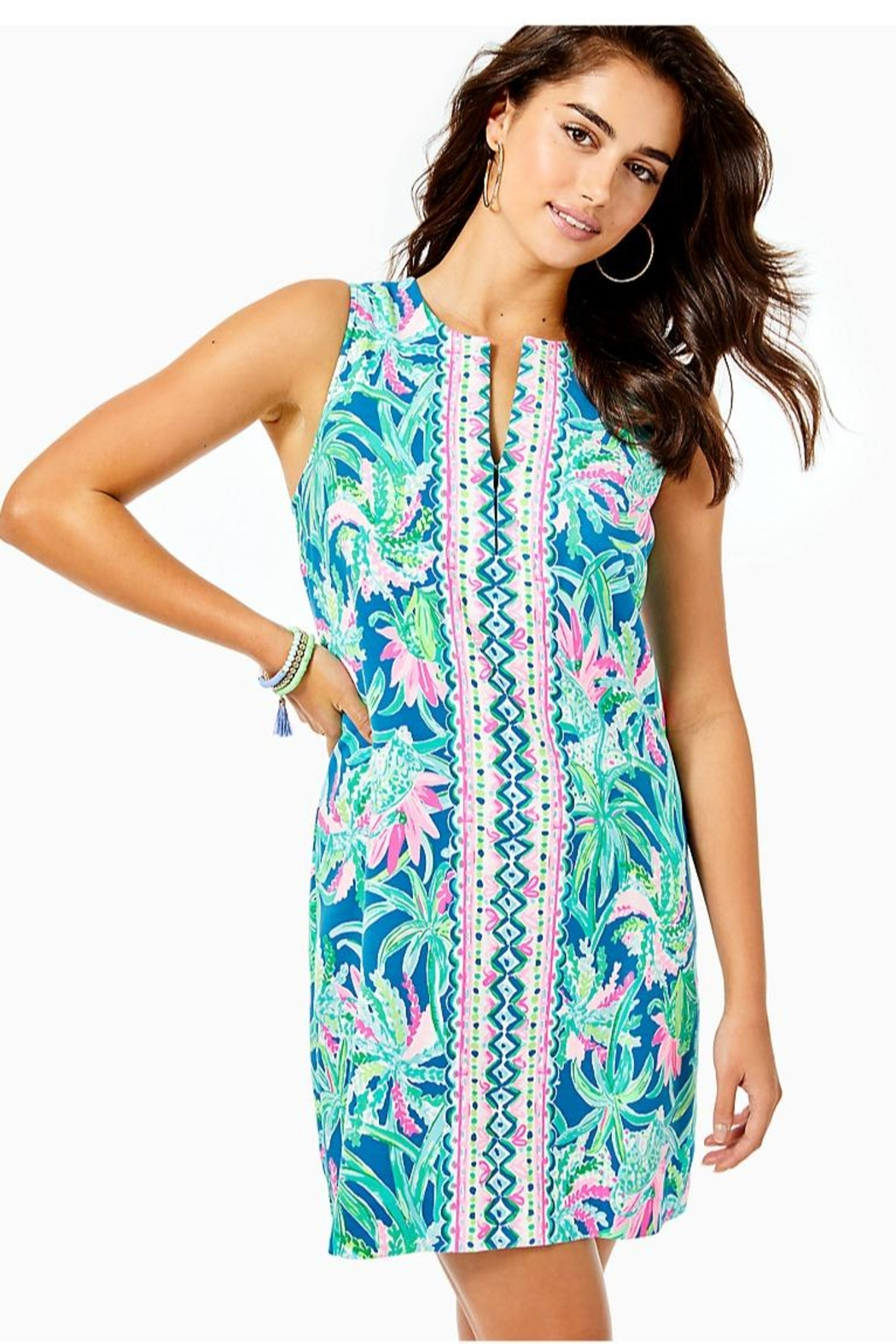 Lilly Pulitzer Kelby Stretch-Shift Dress - Main Image