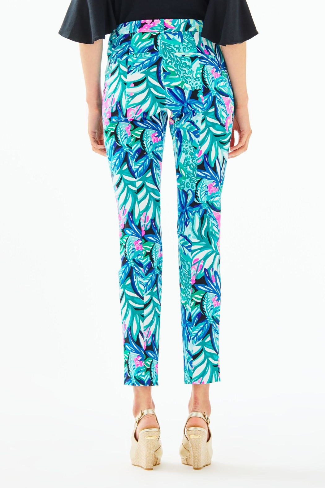 Lilly Pulitzer Kelly Skinny-Ankle Pant - Front Full Image