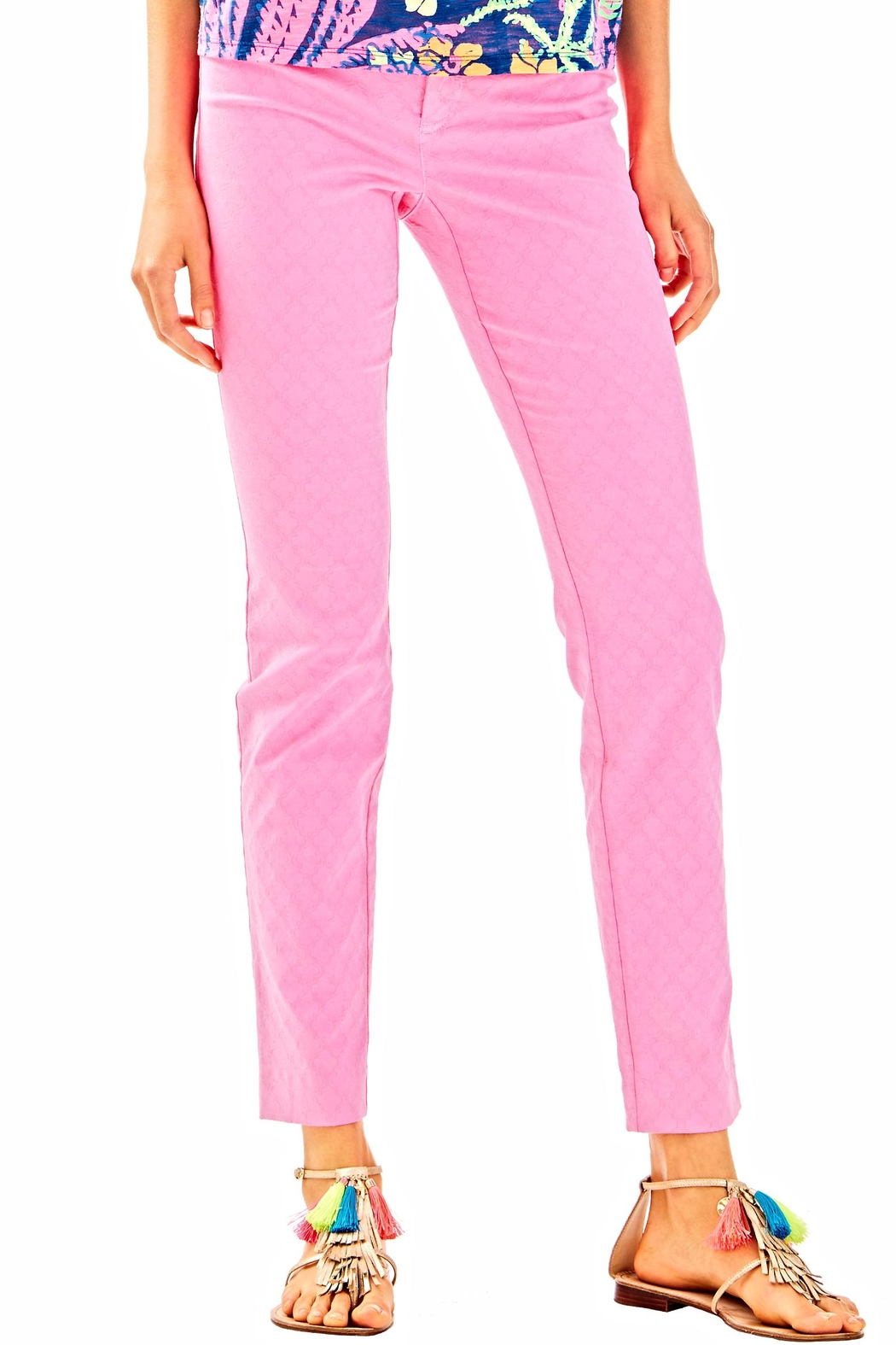 Lilly Pulitzer Kelly Skinny Ankle Pant - Main Image