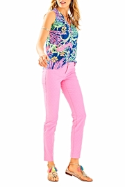 Lilly Pulitzer Kelly Skinny Ankle Pant - Back cropped