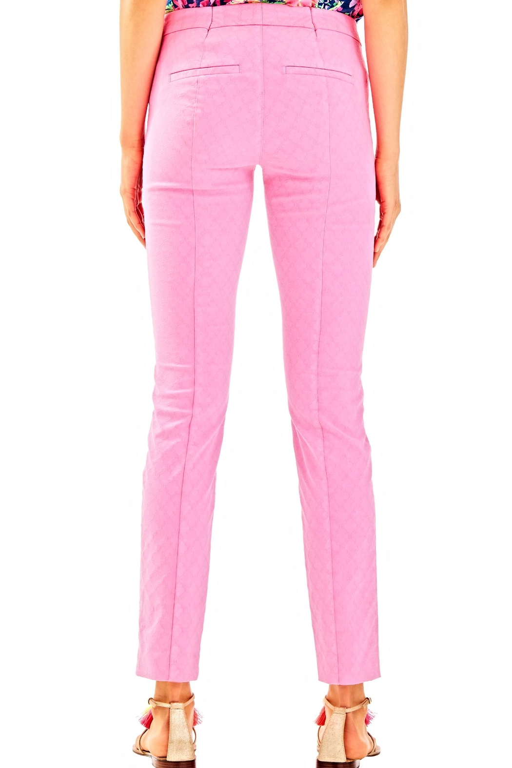 Lilly Pulitzer Kelly Skinny Ankle Pant - Front Full Image