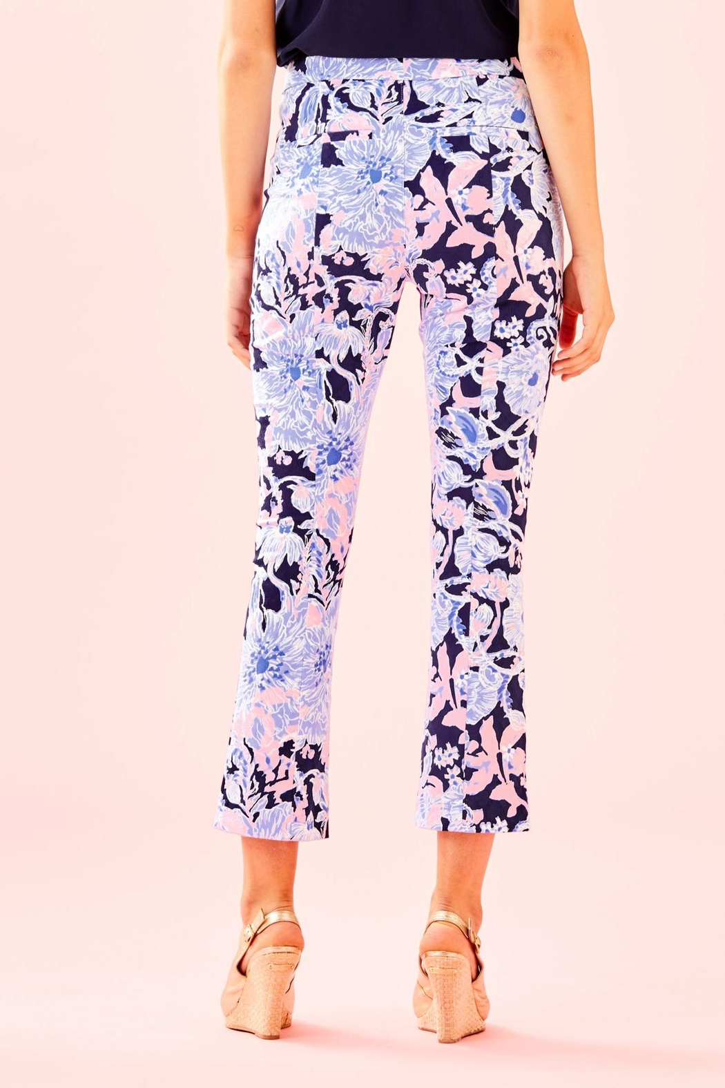 Lilly Pulitzer Kelly Skinny Pant - Front Full Image