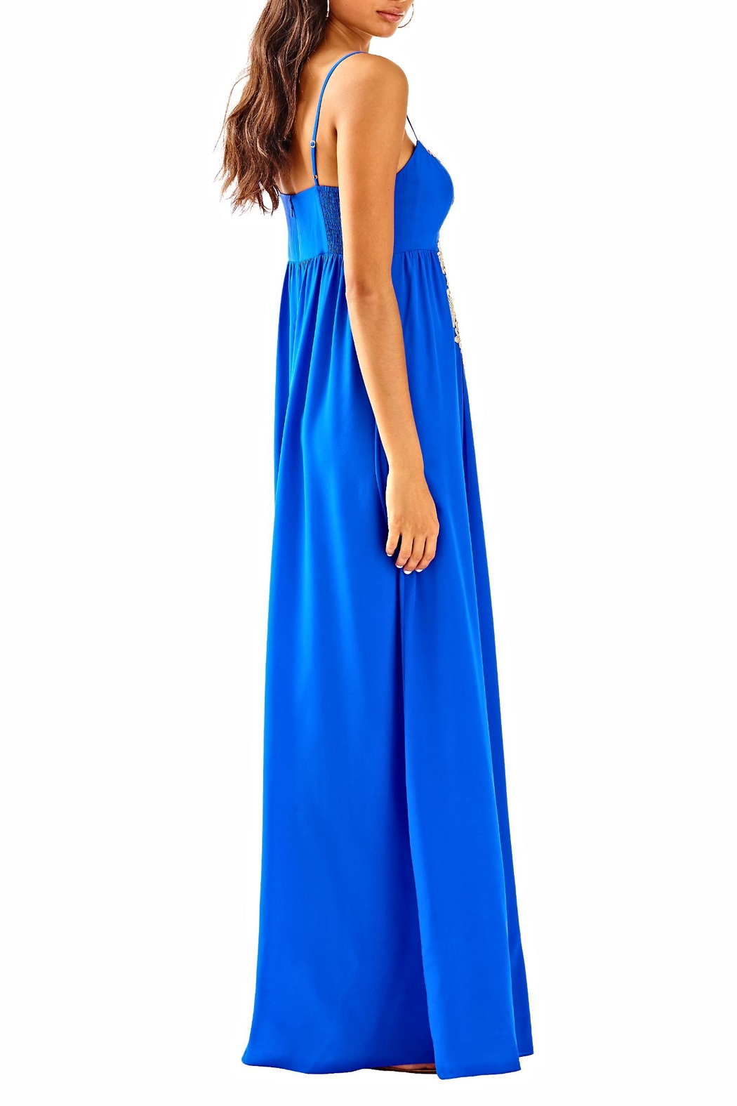 Lilly Pulitzer Kelsea Silk Dress - Side Cropped Image