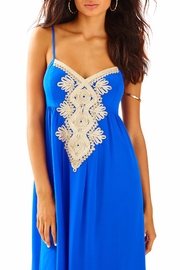 Lilly Pulitzer Kelsea Silk Dress - Back cropped