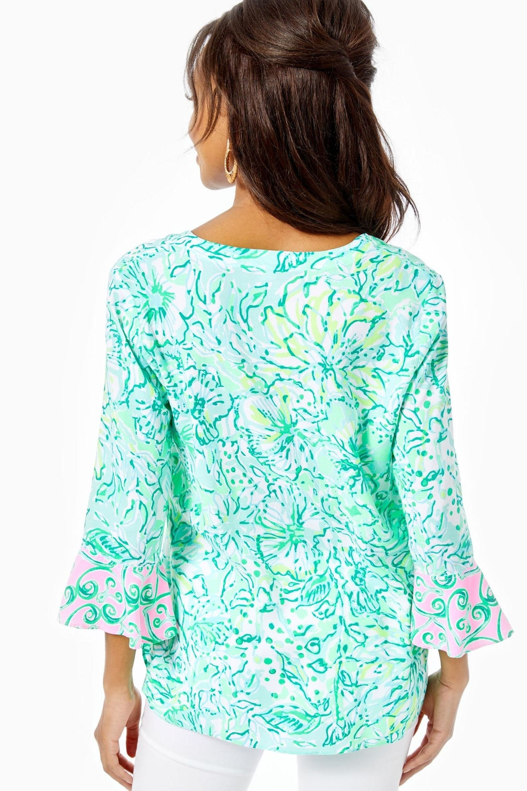 Lilly Pulitzer Keona Tunic - Front Full Image