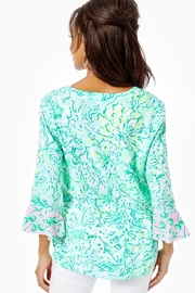 Lilly Pulitzer Keona Tunic - Front full body