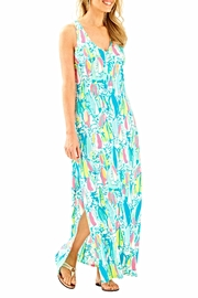 Lilly Pulitzer Maxi Side Slit Dress - Front cropped