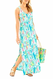 Lilly Pulitzer Maxi Side Slit Dress - Side cropped