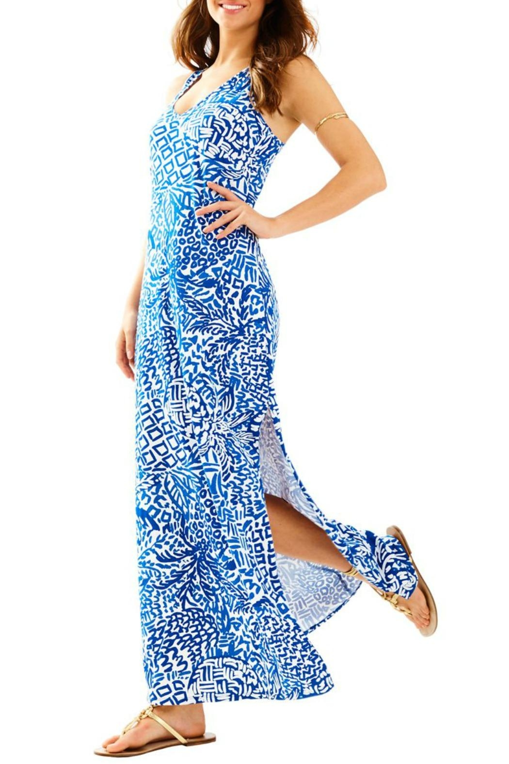 Lilly Pulitzer Kerri Maxi Dress - Front Cropped Image