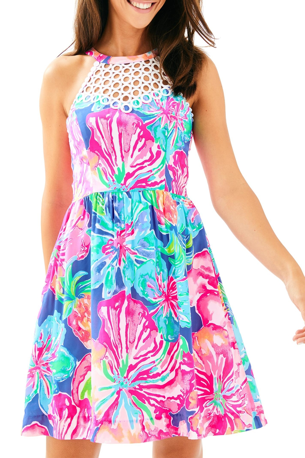 Lilly Pulitzer Kinley Dress - Front Cropped Image