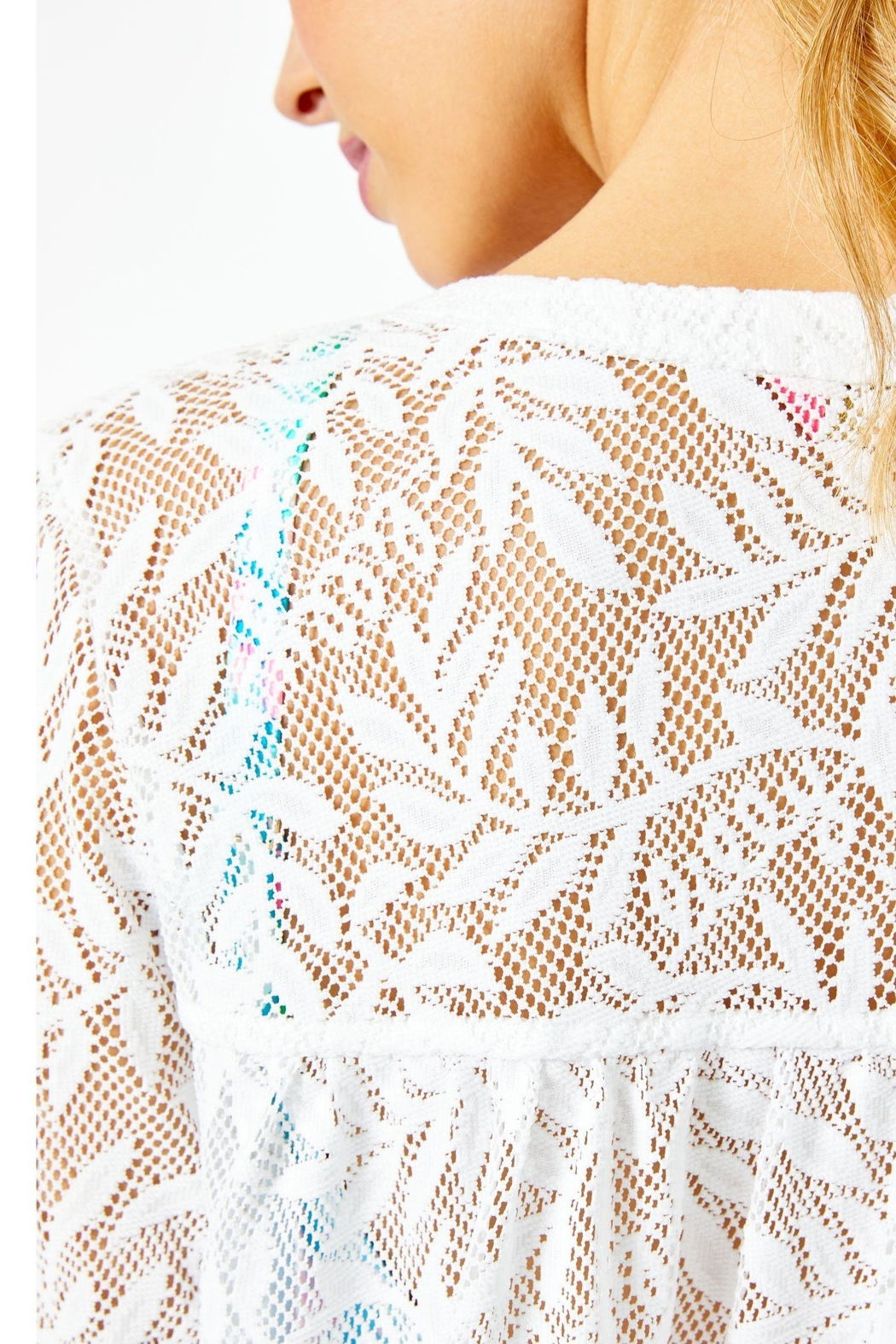 Lilly Pulitzer Kizzy Cover-Up - Back Cropped Image
