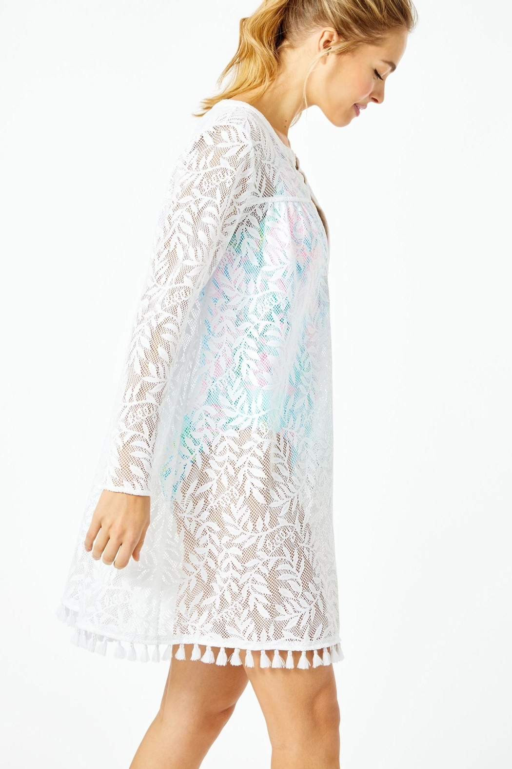 Lilly Pulitzer Kizzy Cover-Up - Side Cropped Image