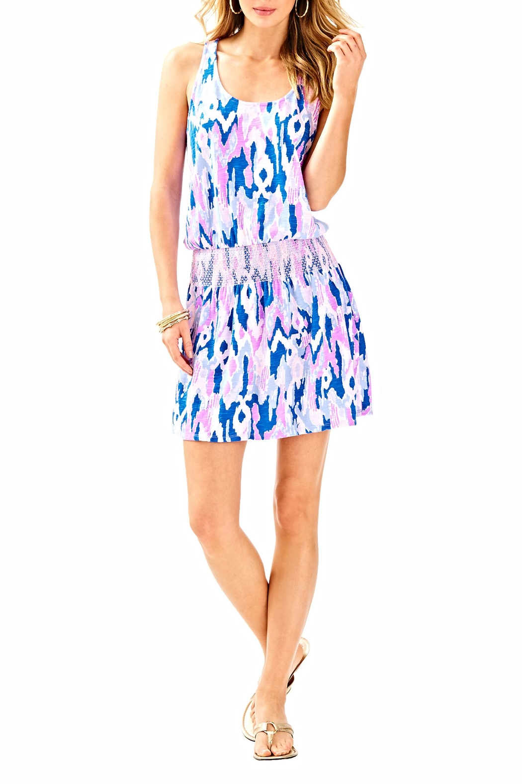 Lilly Pulitzer Klea Romper - Back Cropped Image