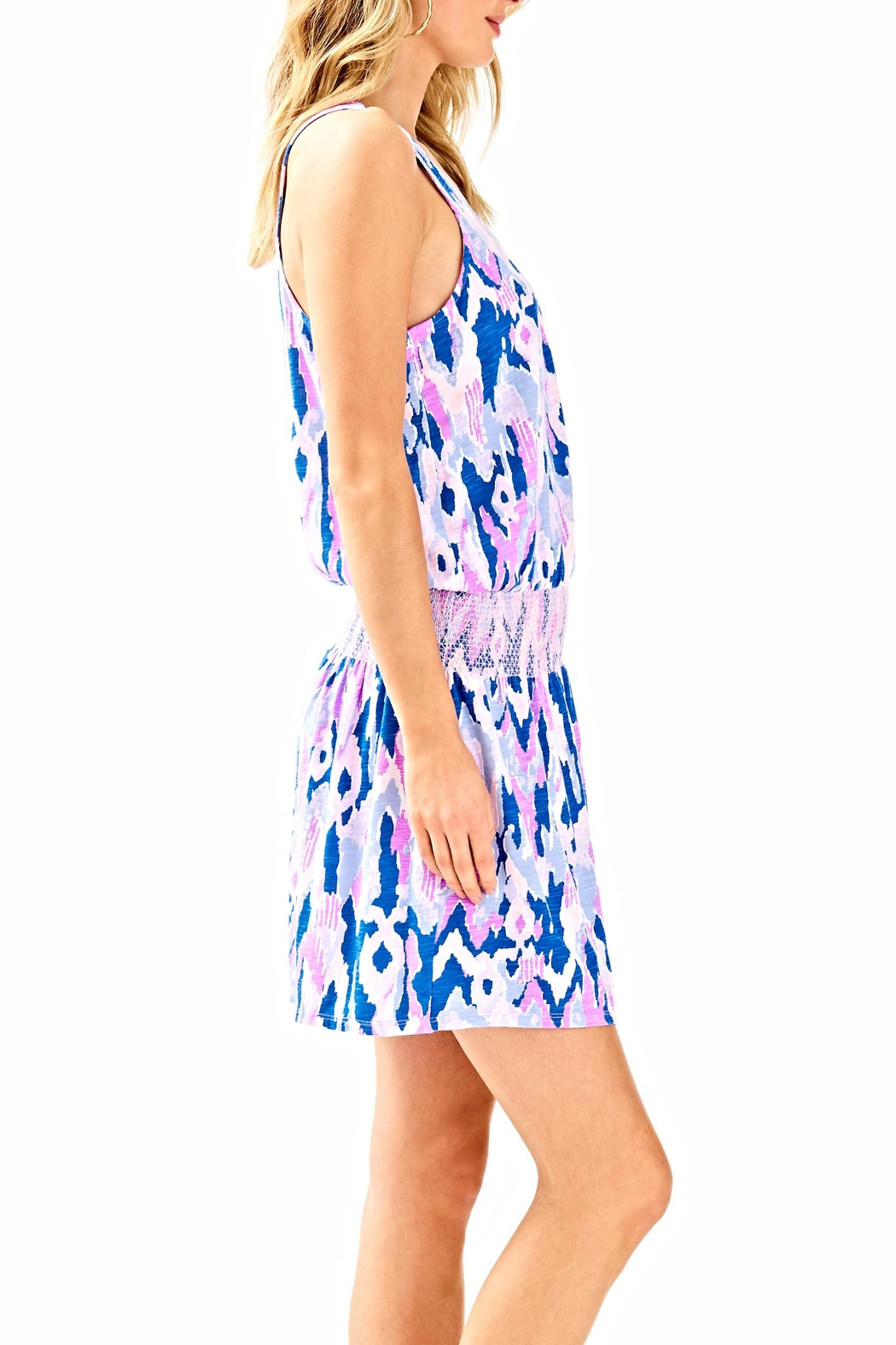 Lilly Pulitzer Klea Romper - Side Cropped Image