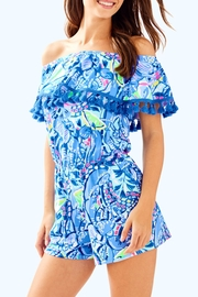 Lilly Pulitzer La Fortuna Romper - Front cropped