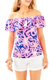 Lilly Pulitzer La Fortuna Top - Front cropped