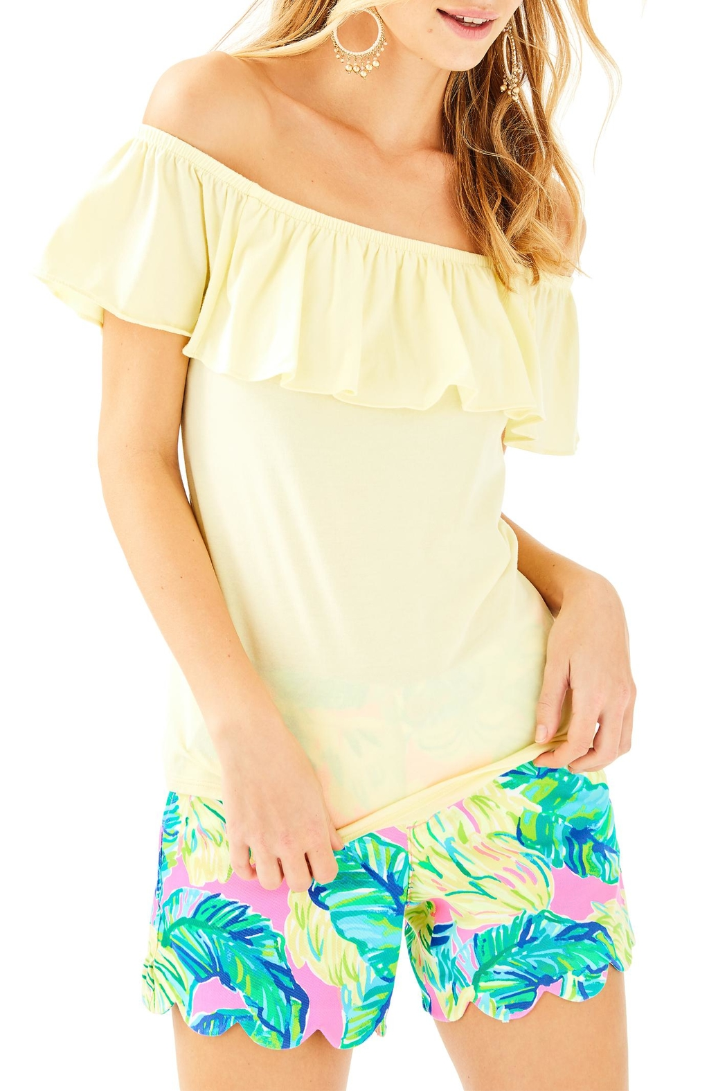 Lilly Pulitzer La Fortuna Top - Main Image