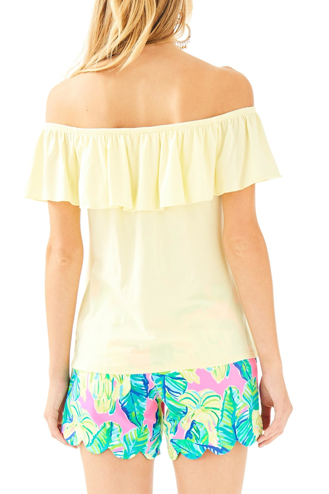 Lilly Pulitzer La Fortuna Top - Front Full Image