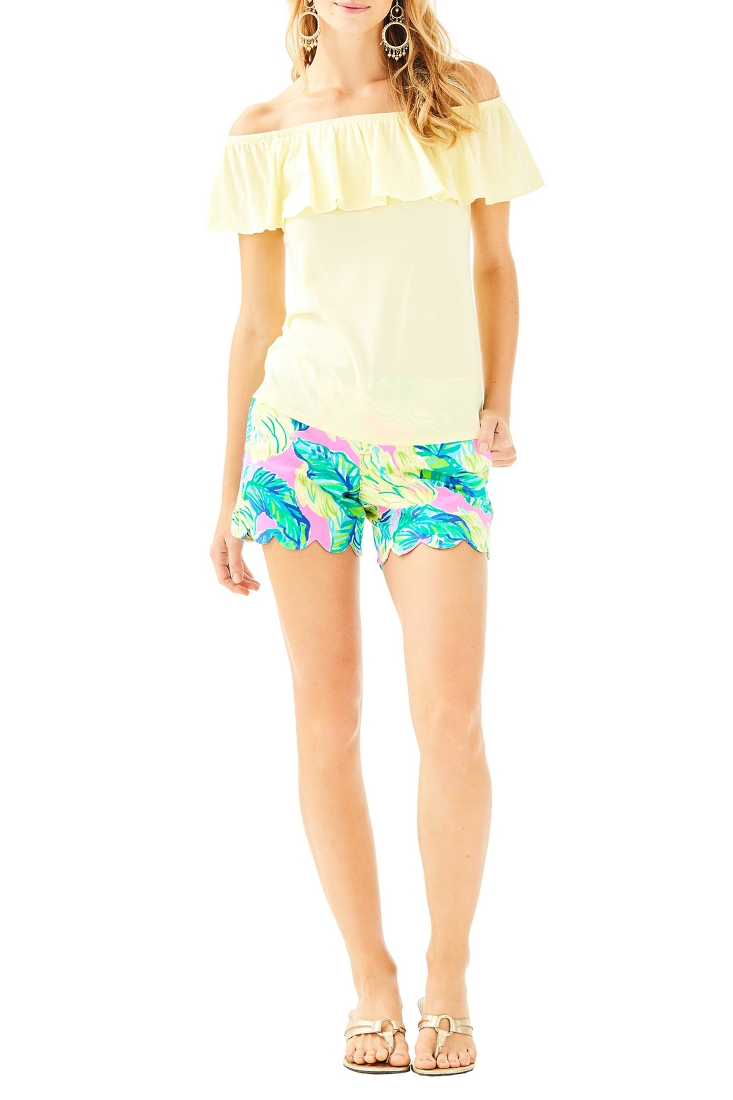 Lilly Pulitzer La Fortuna Top - Side Cropped Image