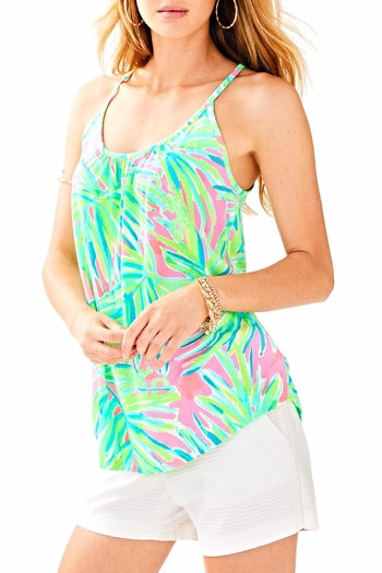 Lilly Pulitzer Lacy Tank Top - Main Image