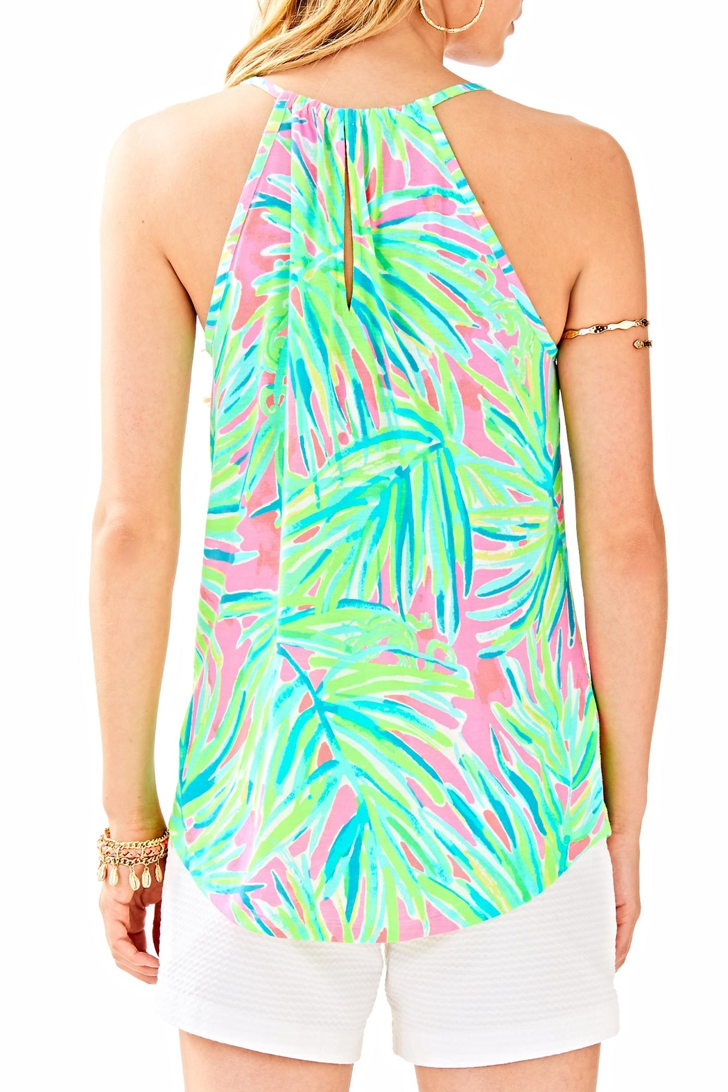 Lilly Pulitzer Lacy Tank Top - Front Full Image