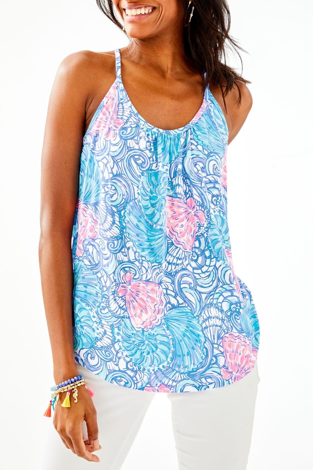 Lilly Pulitzer Lacy Top - Main Image