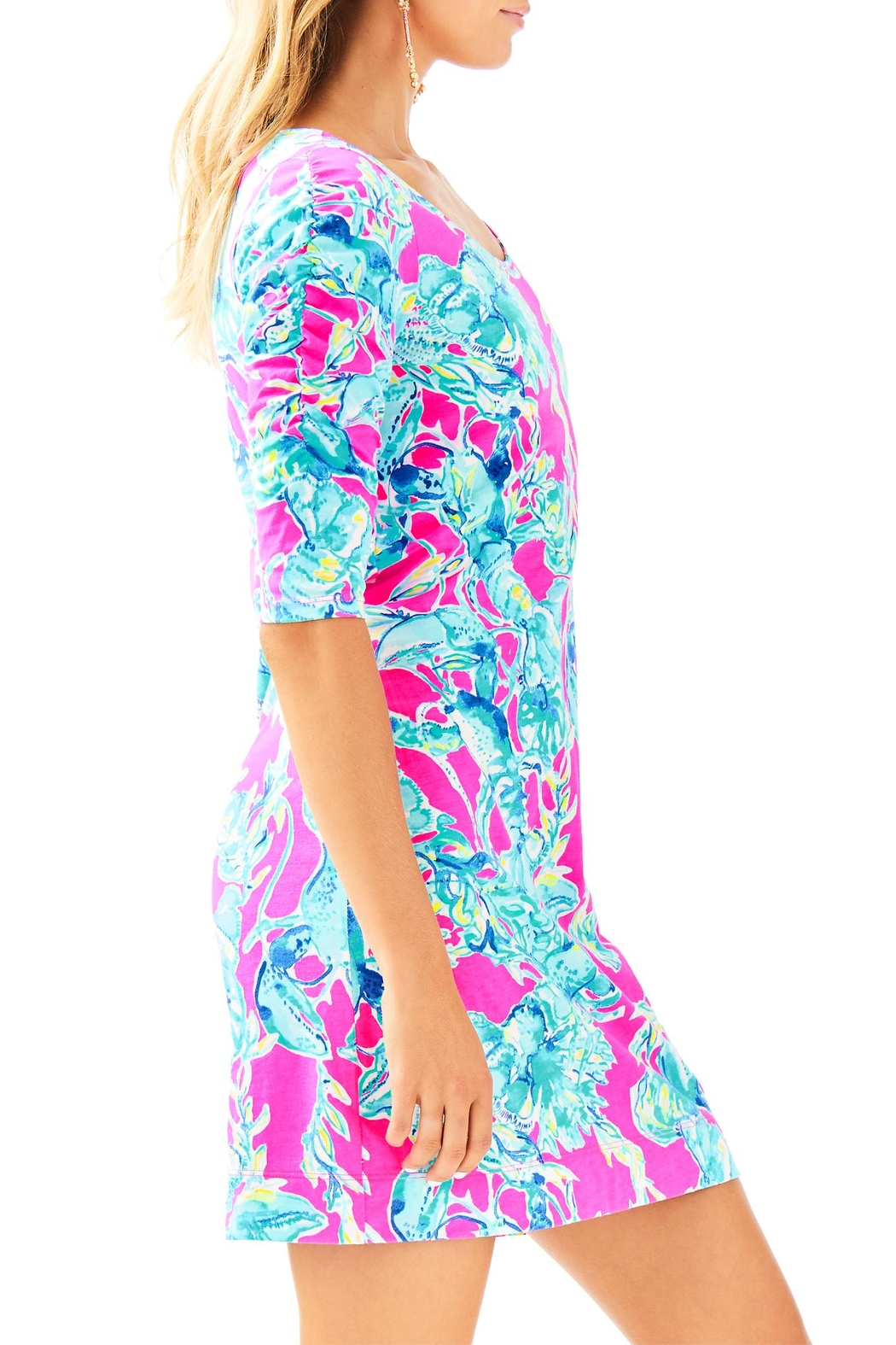 Lilly Pulitzer Lajolla Dress - Side Cropped Image