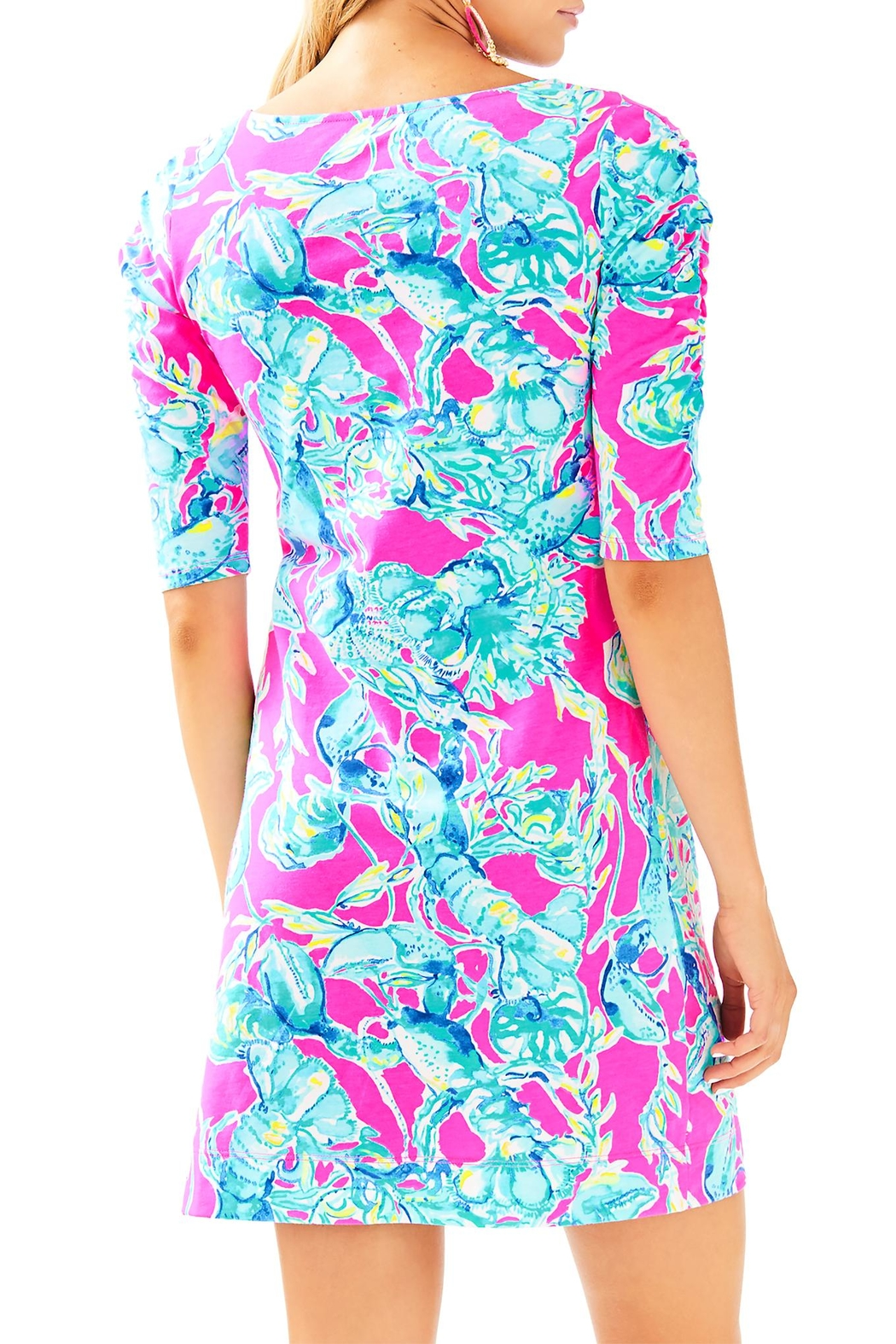 Lilly Pulitzer Lajolla Dress - Front Full Image