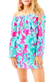 Lilly Pulitzer Lana Skort Romper - Front cropped