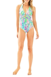 Lilly Pulitzer Lanai Halter One-Piece - Product Mini Image
